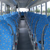 Interior view of the new Setra S 417 UL of the company Martin Becker Altenkrichen