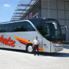 The new Setra S 417 HDH owned by Schulz Reisen