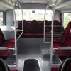 Seats in the rear of the Setra MultiClass